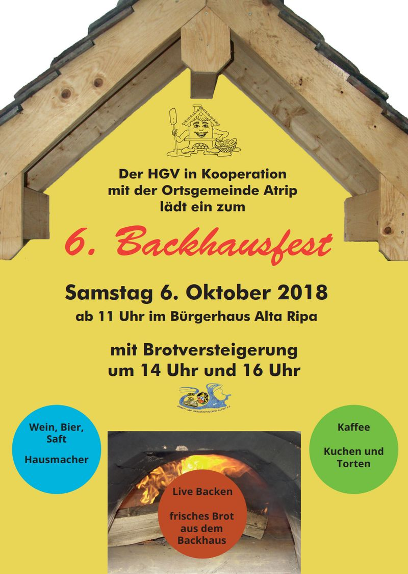 6. Altriper Backhausfest